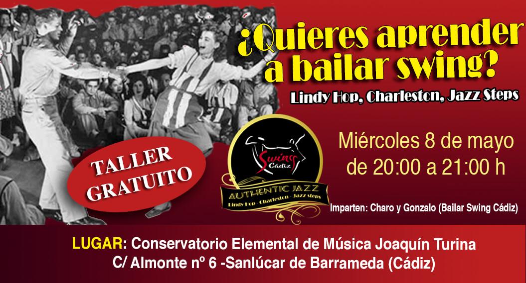 Taller gratuíto iniciación al Lindy Hop en Sanlúcar