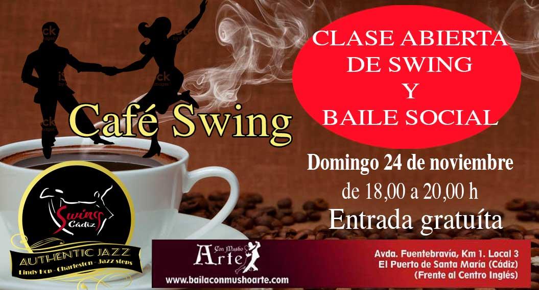 Café Swing en Con Musho Arte