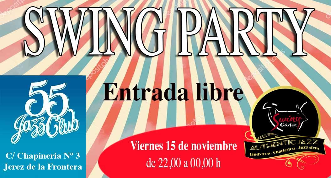 Swing Party en 55 Jazz Club Jerez