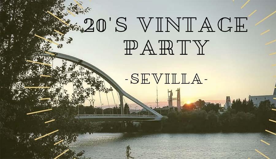 Plazas disponibles para la 20's Vintage Party